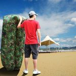 VITCHELO Laybag, Air Sofa, Canape, Sac & Hamac Gonflable Supportant 200 Kilos & Long de 2,5M. Lazy Bag Pliable, Flotable, Résistant aux Déchirures & Imperméable TOP 9 image 1 produit