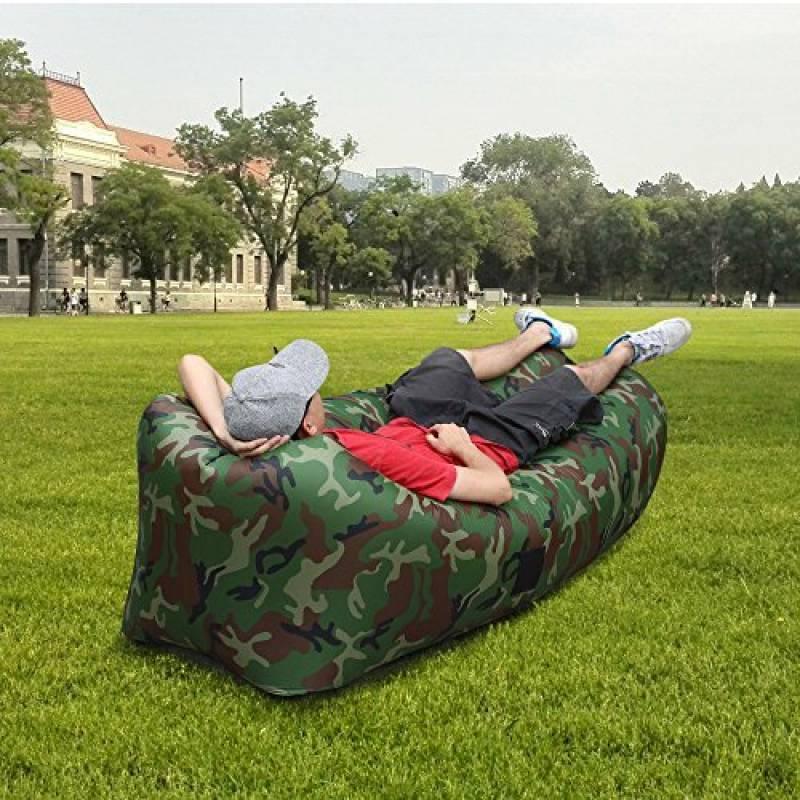 Canapé Hamac: Un Coussin Gonflable D'extérieur Pour Préserver Le Confort