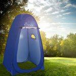 WolfWise Tente de Douche Toilette Cabinet de Changement Tente Instantanée Portable Camping Abri de Plein Air Vestiaire Amovible Extérieure Intérieure - Bleu de TOP 11 image 1 produit