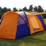 ZC&J Extérieur pour 5-8 personnes à utiliser les tentes de luxe, les tentes Sanshiyiting, la ventilation anti-moustique de fil net, les tentes de dîner de campi TOP 3 image 0 produit
