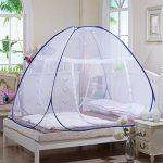 Hoomall Filet de Lit Dome Moustiquaire Pliable Forme Tente Moustiquaire Popup Bleu 180x200x150cm de la marque Hoomall TOP 2 image 0 produit