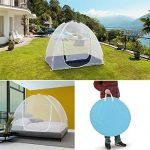 IDMarket - Moustiquaire dôme pop up 190 x 125 cm mobile pour lit de la marque IDMarket TOP 6 image 1 produit