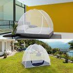 IDMarket - Moustiquaire dôme pop up 190 x 125 cm mobile pour lit de la marque IDMarket TOP 6 image 2 produit