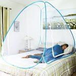 Intérieur ou extérieur Moustiquaire Kashang de Mongolie PopUp Tente dôme Blanc Design gratuit d'installation et de pliage Net, convient pour adultes, enfant TOP 5 image 3 produit