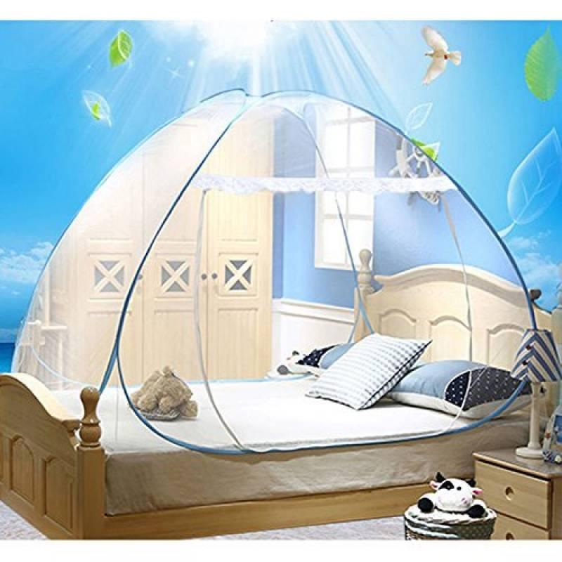 Intérieur ou extérieur Moustiquaire Kashang de Mongolie PopUp Tente dôme Blanc Design gratuit d'installation et de pliage Net, convient pour adultes, enfant TOP 5 image 0 produit