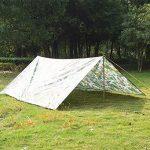 Pellor 3mx3m bâche de tente tapis de sol imperméable camouflage pour camping randonnée de la marque Pellor TOP 8 image 1 produit