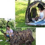 Pop-up Automatique Portable extérieur Quick-open Tente instantanée Installation étanche d'aération pour le camping, randonnée, pêche, voyages de Over-night TOP 7 image 2 produit