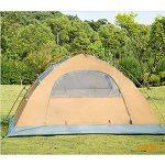 poteau en aluminium couchette double tente extérieure tente de camping pluie et neige quatre saisons avec jupe pare-neige tente d'alpinisme couple de campin TOP 1 image 1 produit