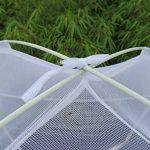 S/O® Moustiquaire mobile réseau 200x 180x 155cm Moustiquaire baldaquin moustiquaire moustiquaire moustiquaire ciel de lit tente pop up de la marque Schramm O TOP 3 image 1 produit