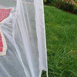 S/O® Moustiquaire mobile réseau 200x 180x 155cm Moustiquaire baldaquin moustiquaire moustiquaire moustiquaire ciel de lit tente pop up de la marque Schramm O TOP 3 image 2 produit