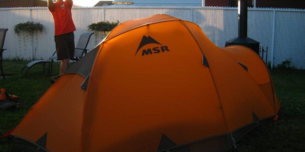 Tente Msr : la meilleure pour le camping et la randonnée principale