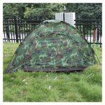 Tente pliable - TOOGOO(R) Multijoueurs Tente pliable etanche pour Quatre saisons en fibre de verre pour Camping a l'exterieur Camouflage Randonnee de la mar TOP 1 image 1 produit