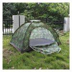Tente pliable - TOOGOO(R) Multijoueurs Tente pliable etanche pour Quatre saisons en fibre de verre pour Camping a l'exterieur Camouflage Randonnee de la mar TOP 1 image 0 produit