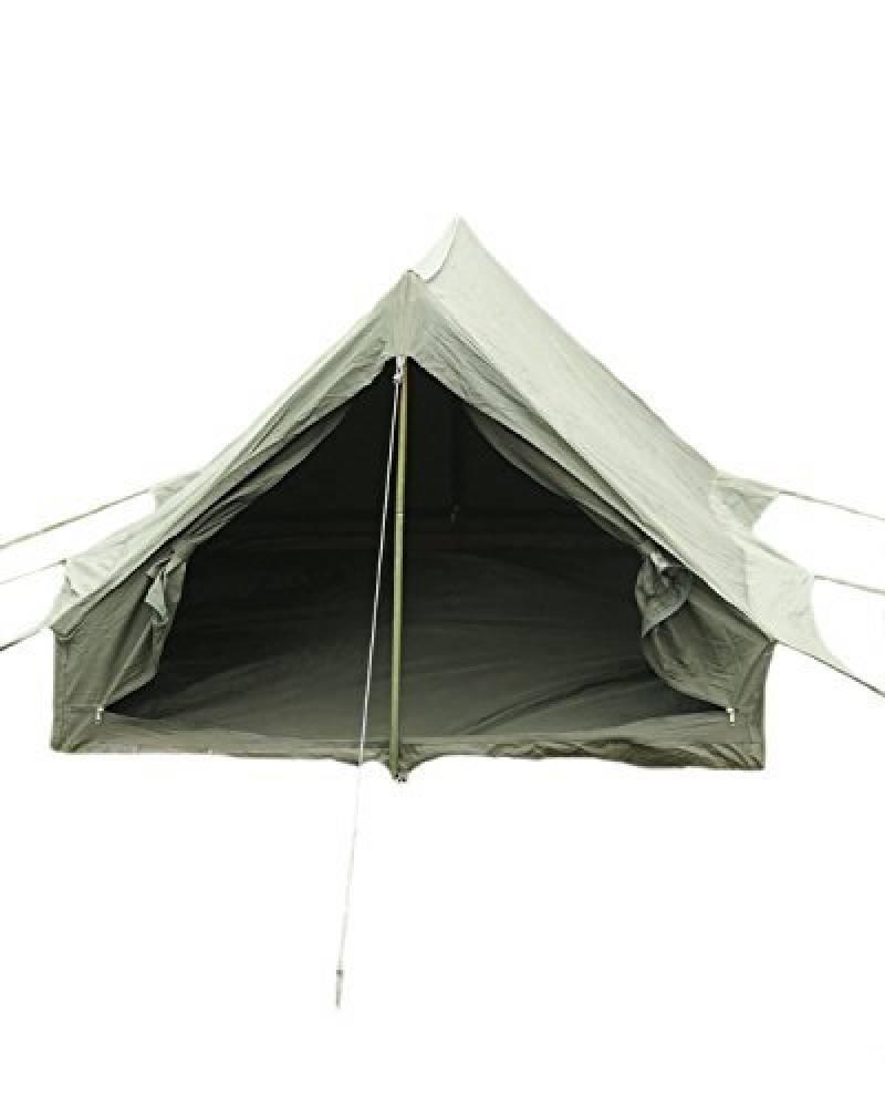 Armée Française Olive toile en coton 2hommes Tente avec tapis de sol Piquets et poteaux de qualité 1 de la marque VIZ-UK WEAR TOP 6 image 0 produit