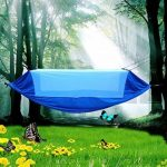 Hamacs de Camping doubles, GETALL Portable confort Nylon tissu Parachute légers hamacs pour les loisirs d'extérieur ou d'intérieur de la marque GETALL TOP 7 image 0 produit