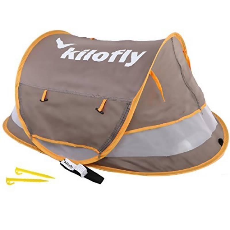 kilofly bébé (Taille M) instantané Pop Up Tente de plage Protection solaire UPF 35+ VOYAGE + 2Pinces à linge de la marque KF Baby TOP 1 image 0 produit