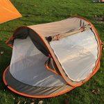 kilofly bébé (Taille M) instantané Pop Up Tente de plage Protection solaire UPF 35+ VOYAGE + 2Pinces à linge de la marque KF Baby TOP 1 image 1 produit