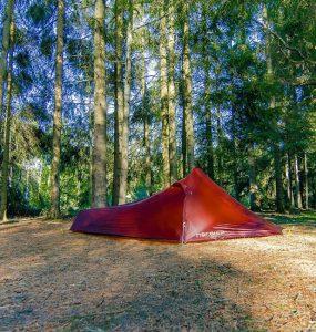 La tente Nordisk pour se protéger du froid principale