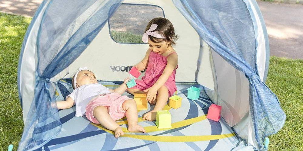 La tente solaire pour rester à l'abri du soleil principale