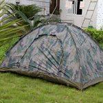 LY® Tente de Camping Camouflage Pour 2 Personnes Tente Dôme Etanche Pour Vacances Activités de Plein Air Facile à Monter 200×150×110cm de la marque LY TOP 1 image 1 produit