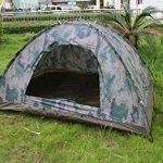 LY® Tente de Camping Camouflage Pour 2 Personnes Tente Dôme Etanche Pour Vacances Activités de Plein Air Facile à Monter 200×150×110cm de la marque LY TOP 1 image 0 produit