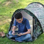 Tente de haute qualité - de plein air Les petites tentes individuel camping pêche intérieur maison La vitesse d'ouverture automatique tente imperméabiliser TOP 6 image 1 produit