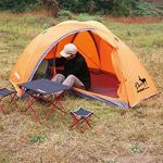 Tente de haute qualité - Double personne Double couche Aluminium Rods Outdoor Camping Escalade Tente Rainproof Ultra-Light Tent --Confort de voyage à l'exté TOP 9 image 0 produit