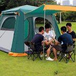 Tente de haute qualité - Énorme 4-6 personnes Couche double Imperméable camping tente Vitesse ouverte automatiquement Tente extérieure --Confort de voyage à l&# TOP 12 image 1 produit