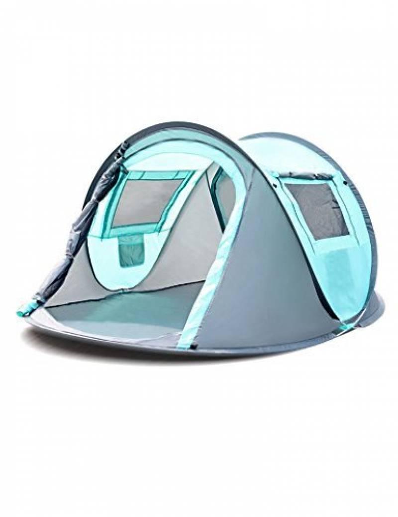 Tente de haute qualité - Tirs de main tente de plein air camping 3-4 personnes Entièrement automatique Vitesse ouverte Construction gratuite tente --Confort de TOP 2 image 0 produit
