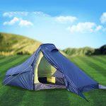 Tente de haute qualité - Ultra léger, individuel Barres en aluminium, tente, extérieur, Imperméable à l'eau, escalade, quatre saisons, champ, double couche, TOP 10 image 1 produit