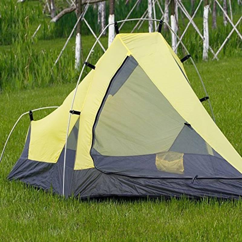 Tente de haute qualité - Ultra léger, individuel Barres en aluminium, tente, extérieur, Imperméable à l'eau, escalade, quatre saisons, champ, double couche, TOP 10 image 0 produit
