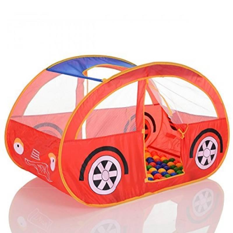 Tente de jeu enfant Pop Up Voiture et 100 balles pour de piscine à balles de la marque LCP Kids® TOP 6 image 0 produit