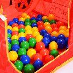 Tente de jeu enfant Pop Up Voiture et 100 balles pour de piscine à balles de la marque LCP Kids® TOP 6 image 2 produit
