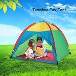 TOMSHOO Tente pour enfants Tente de jeu Portable Utilisable à L'Intérieur ou à L'Extèrieur de la marque TOMSHOO TOP 10 image 0 produit