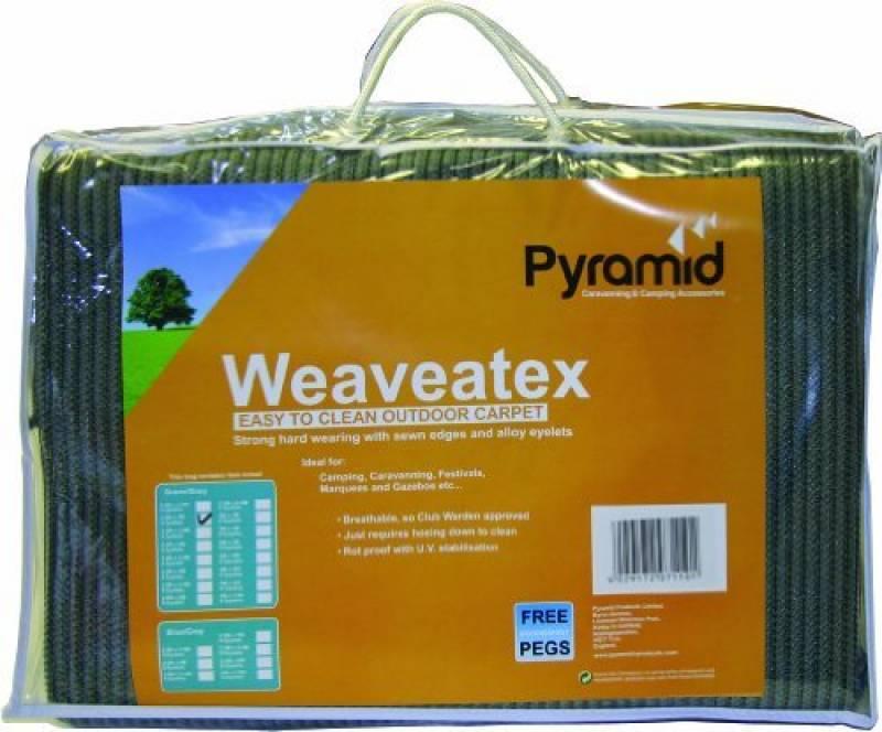 Weaveatex Tapis Tente Caravane 2,5m x 4,5m respirant Tapis de sol vert/gris de la marque Weaveatex TOP 6 image 0 produit